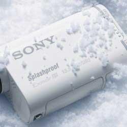 Sony HDR-AS100 kamera teszt